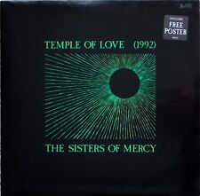 "Sisters Of Mercy Temple Of Love 1992 12"" with Poster"