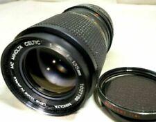 Objectifs manuelles Minolta pour appareil photo et caméscope