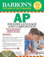 Barron's AP English Language and Composition with CD-ROM, 5th Edition, Ehrenhaft