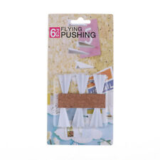 6pclot Paper Airplane Push Pins Set Office Flying Pushing Thumbtack Drawinbcaca