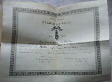 Dossier MILITAIRE. GENDARMERIE à Pied. Brevet Médaille Militaire. 1877 à 1898