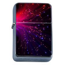 Cool Light Fibers Em1 Flip Top Oil Lighter Wind Resistant With Case