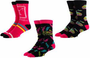 Back to the Future Crew Socks in a DeLorean Box, 3-Pair, Sock Size 10-13
