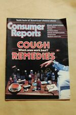 Consumer Reports issues from 1983 January February March July CR