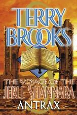 Antrax (Voyage of the Jerle Shannara, Book 2), Terry Brooks, Good Condition, Boo