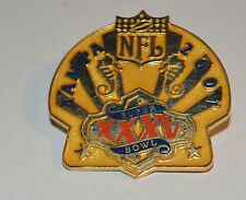 Enameled Tie Tack Lapel Pin Brooch Tampa Nfl 2007 Xxxv Super Bowl