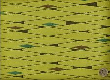 Woven Modern Roulette Sprout Abstract Contemporary Lime Upholstery Fabric