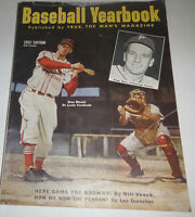 Baseball Yearbook Magazine Stan Musial & Ralph Kiner 1952 NO ML 072414R