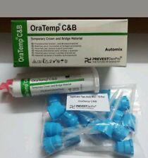 5 X PREVEST ORATEMP C&B - 67gm TEMPORARY CROWN & BRIDGE MATERIAL AUTOMIX