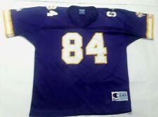 7de2f47cab4 Randy Moss Minnesota Vikings Youth XL Champion VTG Purple NFL Football  Jersey