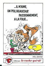Sticker Panini La Vache Qui Rit Gaston Lagaffe Mlle Jeanne
