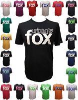 New Urban Fox Perfox Mens T-Shirt Short Sleeve~Muscle Fit~SMALL FIT~FREE POST!