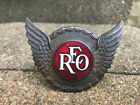Vintage+REO+Motor+Car+Radiator+Emblem+Badge+Hood+Ornament