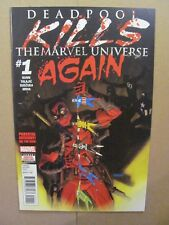 Deadpool Kills The Marvel Universe Again #1 Marvel 2017 Series 9.6 Near Mint+