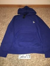 October's Very Own OVO Owl Patch Hoodie Royal Blue Drake Size Large w/ receipt