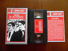 Jess il bandito (Henry King, John Carradine, Brian Donlevy) VHS ed. M. & R. rara