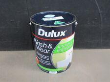 DULUX 1 LITRE WASH-WEAR INTERIO KIT&BATHROOM SEMI-GLOSS WHITE colour paint
