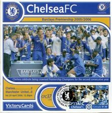CHELSEA 2005-06 Man United (PL Champions Team) Football Stamp Victory Card #537