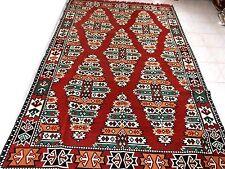 Kilim Fabric Rug,Turkish Kilim Rug,Tribal Rug,Traditional Rug - MA 25-26 rug
