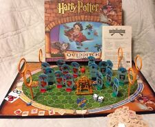 Harry Potter Quidditch The Board Game 100% Complete Gryffindor vs Slytherin HP
