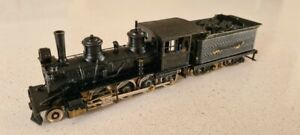 Japanese ho scale kawai 2-8-0 brass steam locomotive.