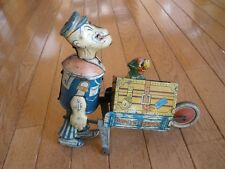1930s POPEYE WIND UP TOY - Popeye Express - Marx Toy Company - Rare Collectible