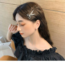 Elegant Hair Clips Bobby Hair Clip Accessories Women Scissors Fashion Crystal