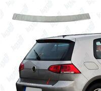 2013Up VW GOLF MK7 HB Chrome Rear Bumper Protector Scratch Guard S.Steel