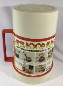 Vintage Thermos Brand Super Food Flask