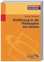 Einführung in die Philosophie des Geistes | Buch | NEU PORTOFREI | Epikur Platon