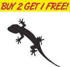 GECKO Lizard Car Decal, Vinyl, Drift Sticker, JDM, EURO, DUB, Tribal Reptile