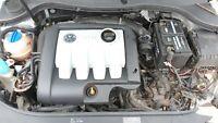 VW Audi Skoda SEAT 2005-2011 Complete Engine 1.9TDi 105Bhp Engine Code BXE