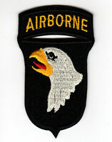 WW2 VIETNAM US ARMY 101ST AIRBORNE DIVISION EMBROIDERED IRON ON PATCH
