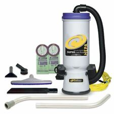 107109 ProTeam Super Coach HEPA Backpack Vacuum With Xover Tool Kit