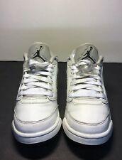 Air Jordan 5 Retro GS Size 6Y Low White Wolf Grey 9205402be