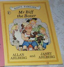 MR BIFF THE BOXER  Janet & Allan Ahlberg 1980 p/b 1st edition Puffin/Kestrel