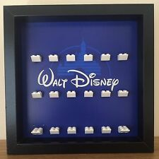 Lego Minifigures Series Disney Minifig Display Frames Cases (Figs Not Included)