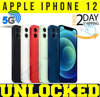 Apple iPhone 12 - 64GB / 128GB (UNLOCKED)  Factory Warranty  ⚫⚪🔴🔵 ✤NEW SEALED✤