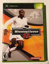 World Soccer Winning Eleven 8 International Microsoft Xbox 2005 USED