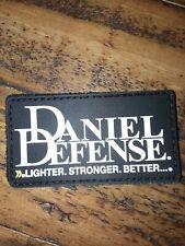 Shot show Morale Patch Daniel Defense lighter stronger better