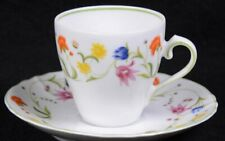 Derby Fine China Denby Portugal Floral Tabletop Dinnerware: Tea Cup & Saucer