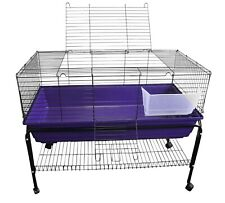 HERITAGE RABBIT CAGE & STAND PACKAGE DEAL INDOOR GUINEA PIG HUTCH HOME 80 100
