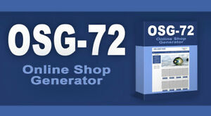 Online Shop Generator OSG-72 - PLR-/Reseller Projekt