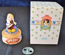New in Box SCHMID Disney Princess  Collection SNOW WHITE - SNEEZY Music Box