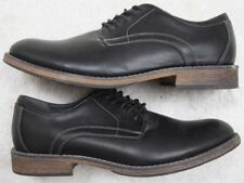 Sonoma Life & Style Black Solid Men's Choice Dress Shoes 11 Eleven Oxford Man