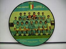 """NAPOLI CAMPIONE D'ITALIA 1986/87 PICTURE LP 12"""" DIEGHITO TANGO FAUSTO CIGLIANO"""