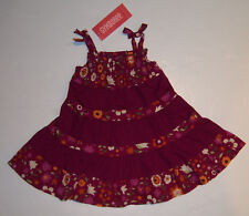 NWT Gymboree Savanna Sunset Pieced Floral Sun Dress 3-6