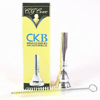 CKB Model 1702HC 2.5C Trumpet Mouthpiece with Brush