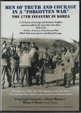 "Men of Truth and Courage in a ""Forgotten War"" The 17th Infantry in Korea - DVD"