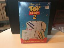Disney Pixar Toy Story 2 Color Color In Sticker Art MIB